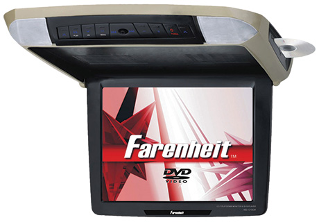 farenheit overhead dvd player