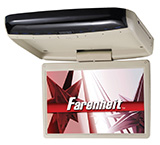 farenheit overhead dvd monitor and player