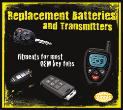 replacement batteries and transmitters available